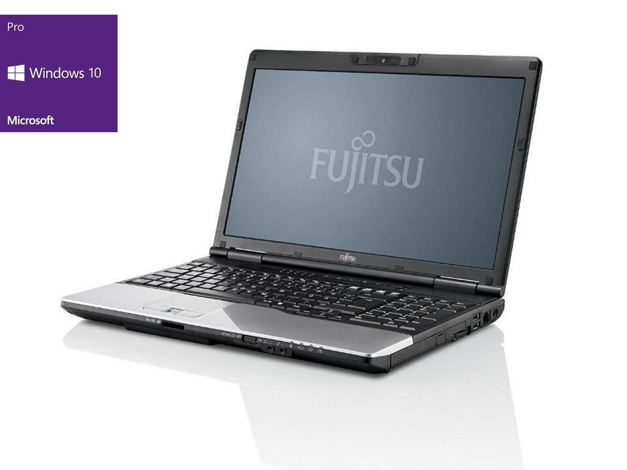 Fujitsu LIFEBOOK E752 (Schwarze Tastatur mit Numblock)